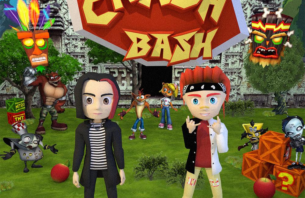 Crash Bash - GONE.Fludd, FLESH