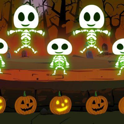 Five Little Skeletons Текст песни с переводом